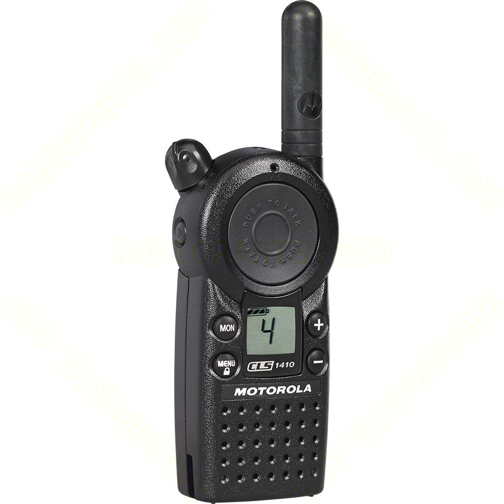 motorola cls1410 business walkie talkie radio with 4. Black Bedroom Furniture Sets. Home Design Ideas
